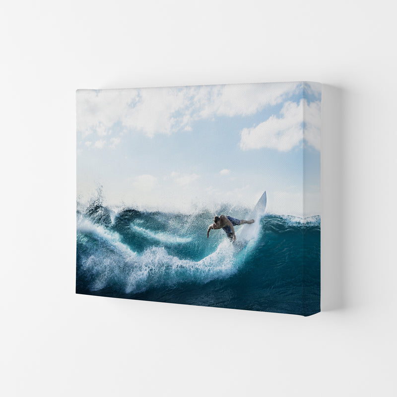 Catch a Wave 2 Photography Art Print by Gal Design Canvas