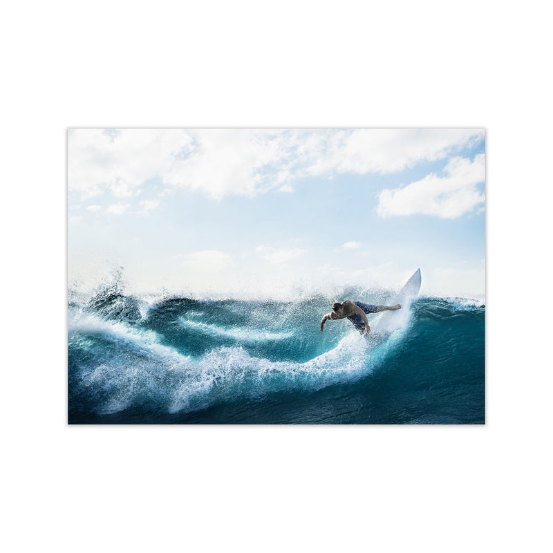 Catch a Wave 2 Photography Art Print by Gal Design Print Only