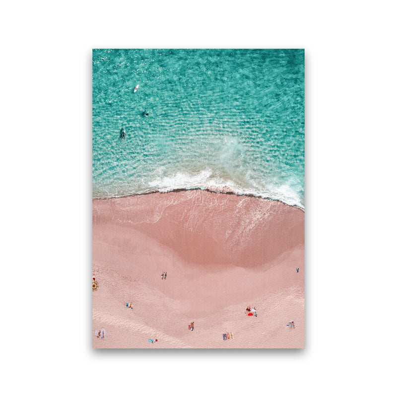Pink Vacation Photography Art Print by Gal Design Print Only