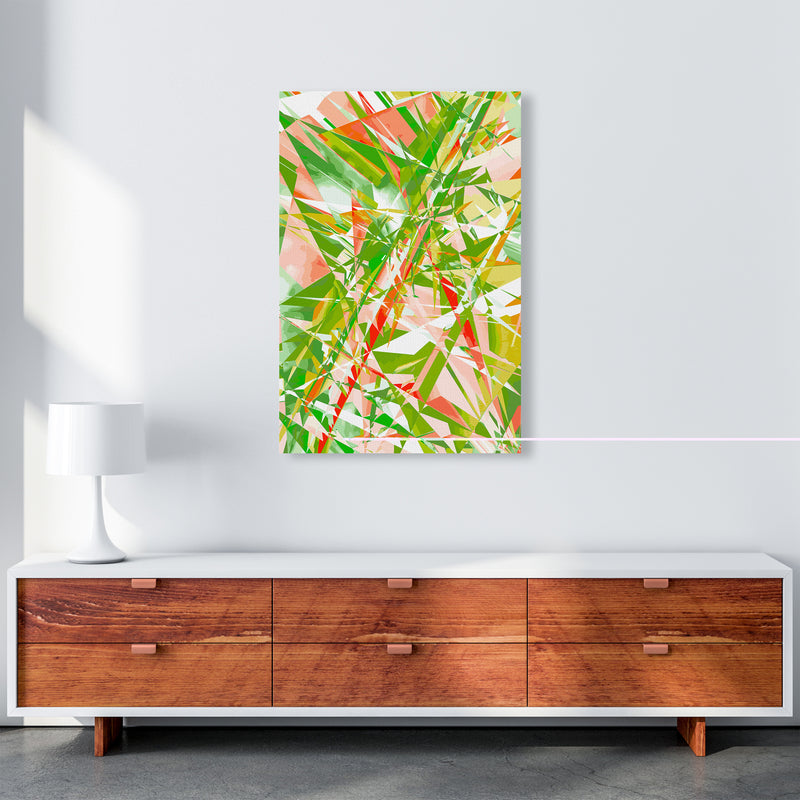 Shatter 4 Abstract Art Print by Henry Hu A1 Canvas