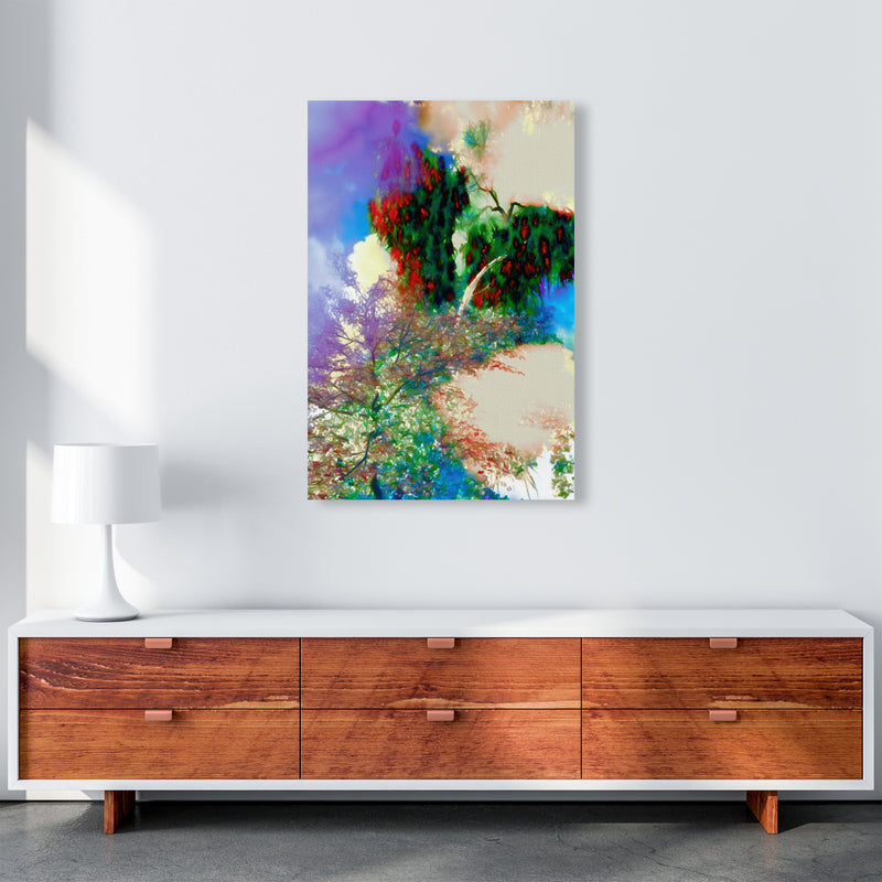 Sweet Tea 9 Abstract Art Print by Henry Hu A1 Canvas