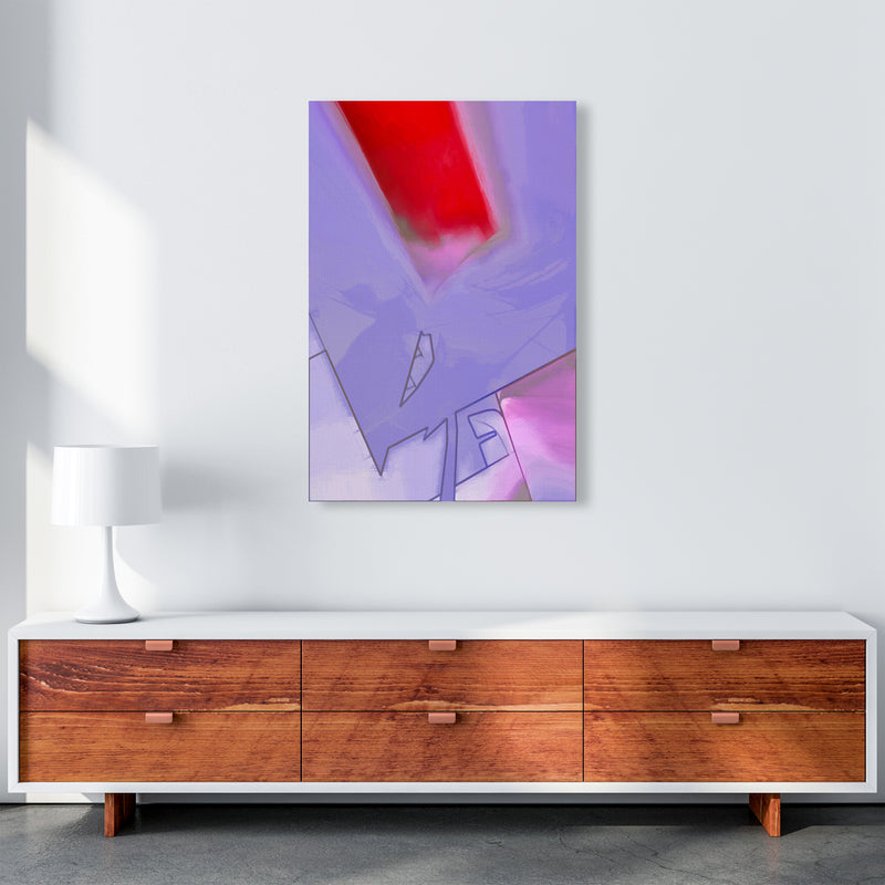 Frontseat Abstract Art Print by Henry Hu A1 Canvas