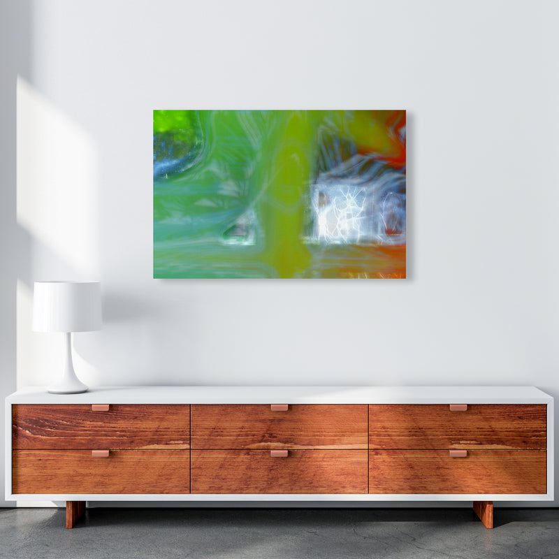 Storm Abstract Art Print by Henry Hu A1 Canvas
