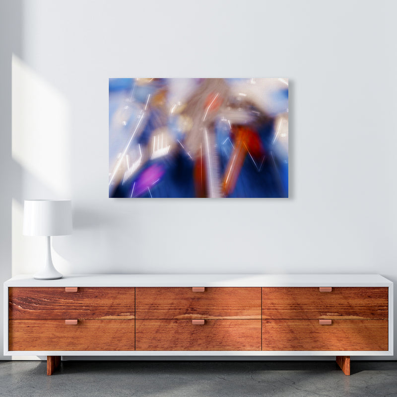 The Sail 7 Abstract Art Print by Henry Hu A1 Canvas