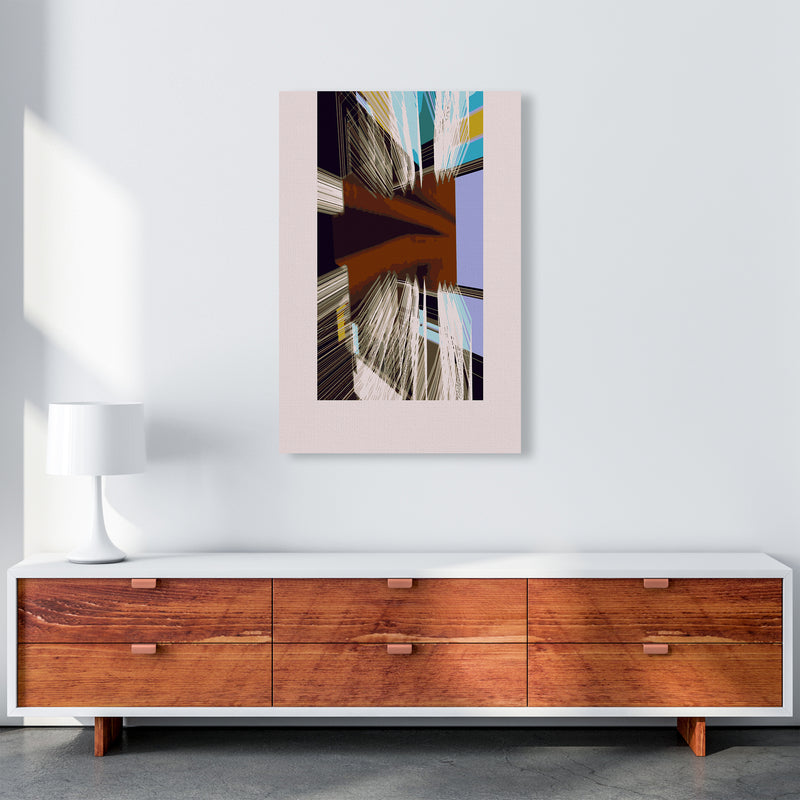 Unit 2 Abstract Art Print by Henry Hu A1 Canvas