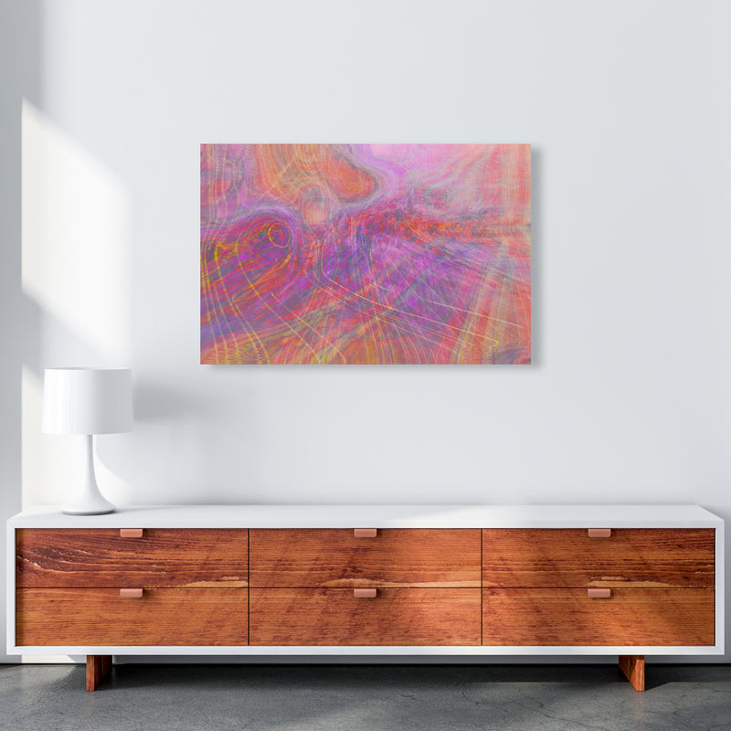 Wake early Abstract Art Print by Henry Hu A1 Canvas