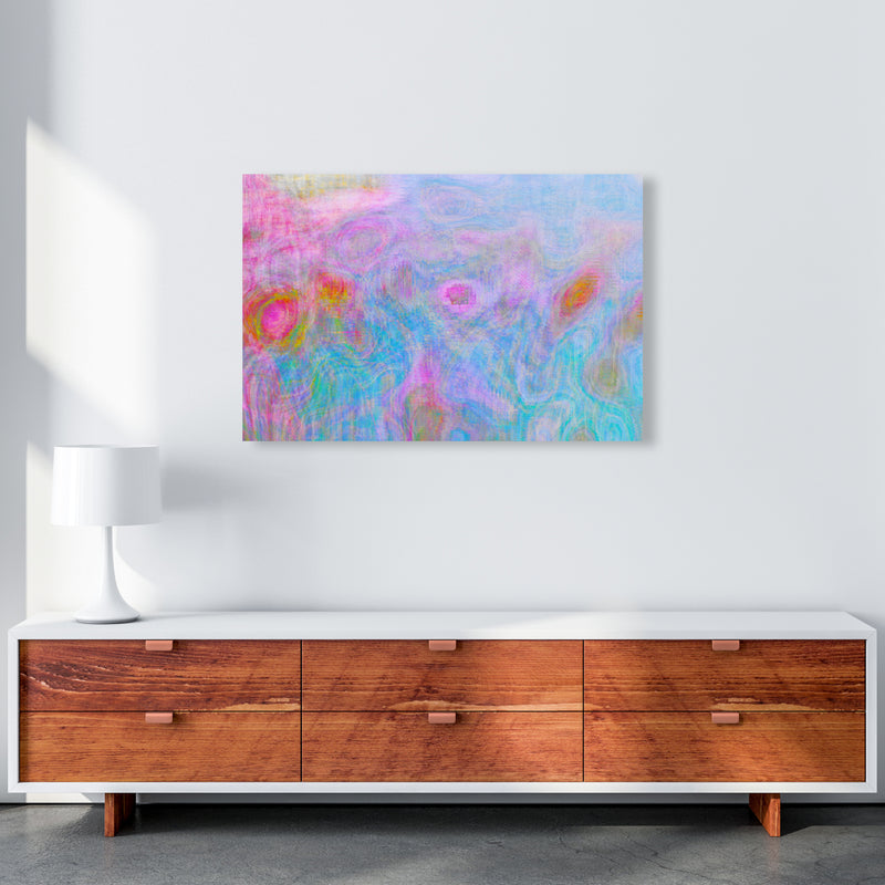 Pine Cone Abstract Art Print by Henry Hu A1 Canvas