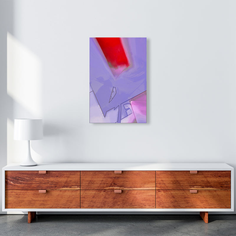 Frontseat Abstract Art Print by Henry Hu A2 Canvas