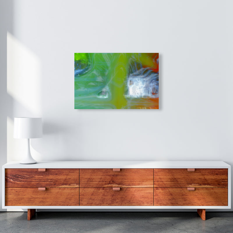 Storm Abstract Art Print by Henry Hu A2 Canvas