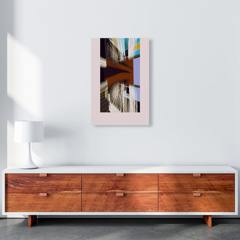 Unit 2 Abstract Art Print by Henry Hu A2 Canvas