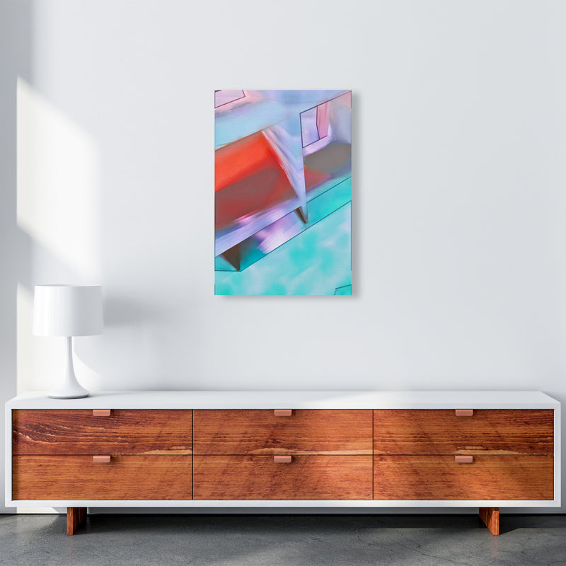 Hillside Abstract Art Print by Henry Hu A2 Canvas