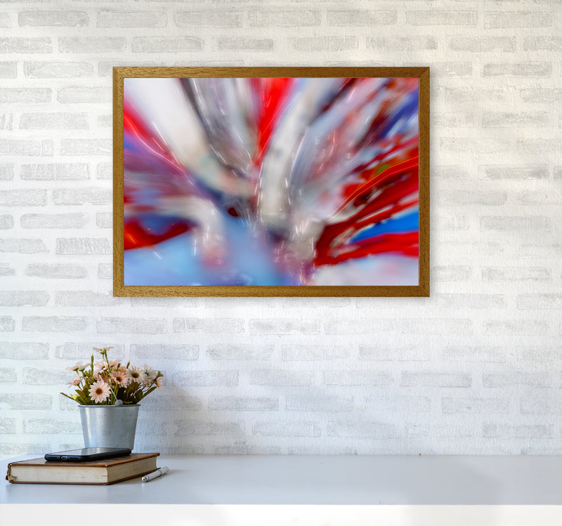 Exposure 4 Abstract Art Print by Henry Hu A2 Print Only