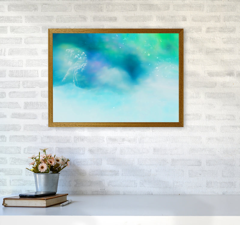 Clearing 1 Abstract Art Print by Henry Hu A2 Print Only