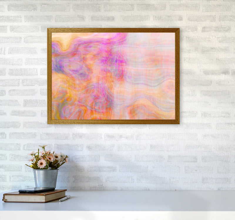 Creation 2 Abstract Art Print by Henry Hu A2 Print Only