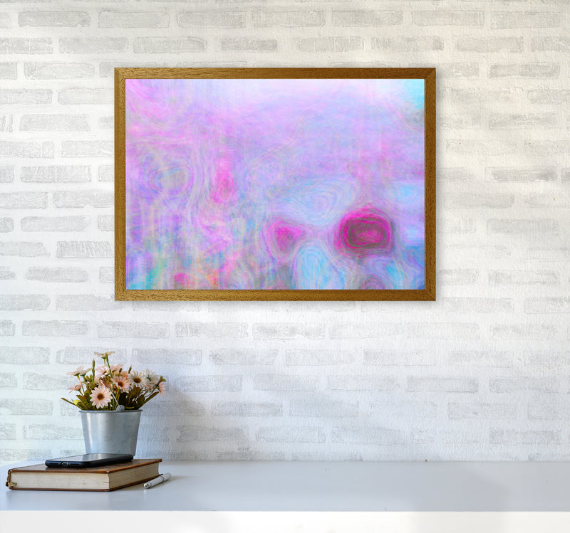 September Breeze Abstract Art Print by Henry Hu A2 Print Only