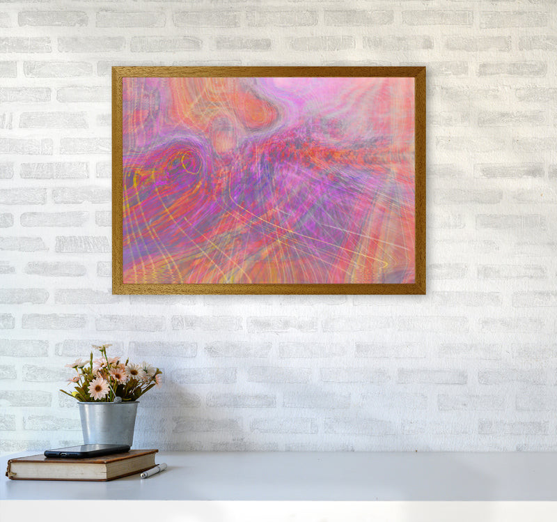 Wake early Abstract Art Print by Henry Hu A2 Print Only