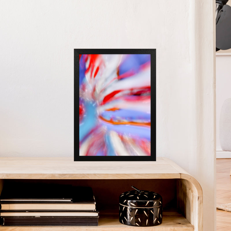Fogs up 5 Abstract Art Print by Henry Hu A3 White Frame