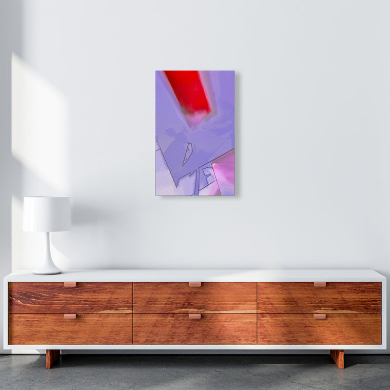 Frontseat Abstract Art Print by Henry Hu A3 Canvas