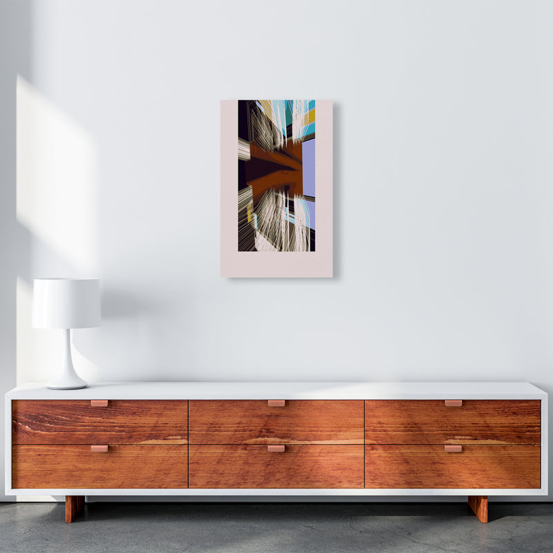 Unit 2 Abstract Art Print by Henry Hu A3 Canvas