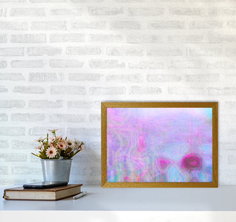 September Breeze Abstract Art Print by Henry Hu A3 Print Only