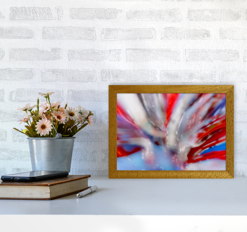 Exposure 4 Abstract Art Print by Henry Hu A4 Print Only