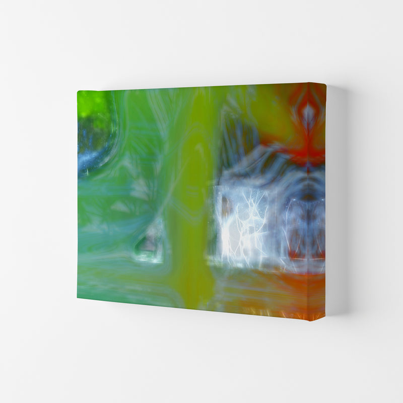 Storm Abstract Art Print by Henry Hu Canvas