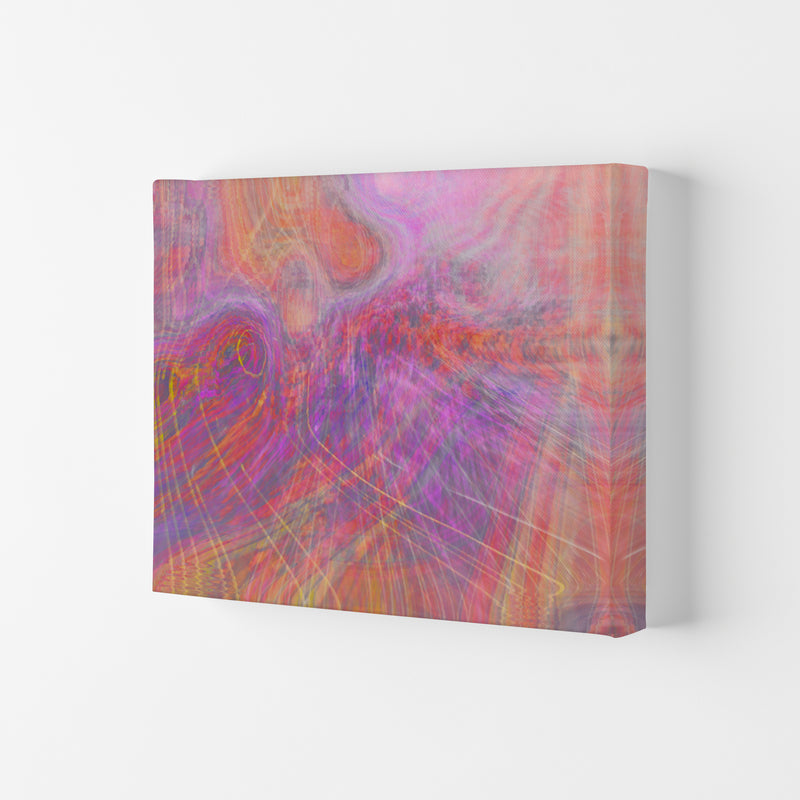 Wake early Abstract Art Print by Henry Hu Canvas