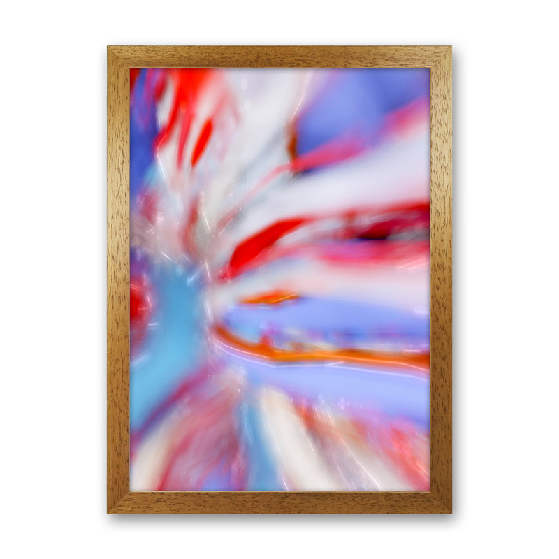 Fogs up 5 Abstract Art Print by Henry Hu Oak Grain