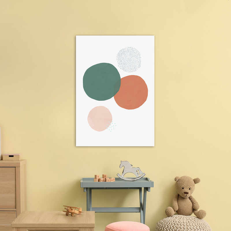 Abstract Soft Circles by Laura Irwin A1 Print Only