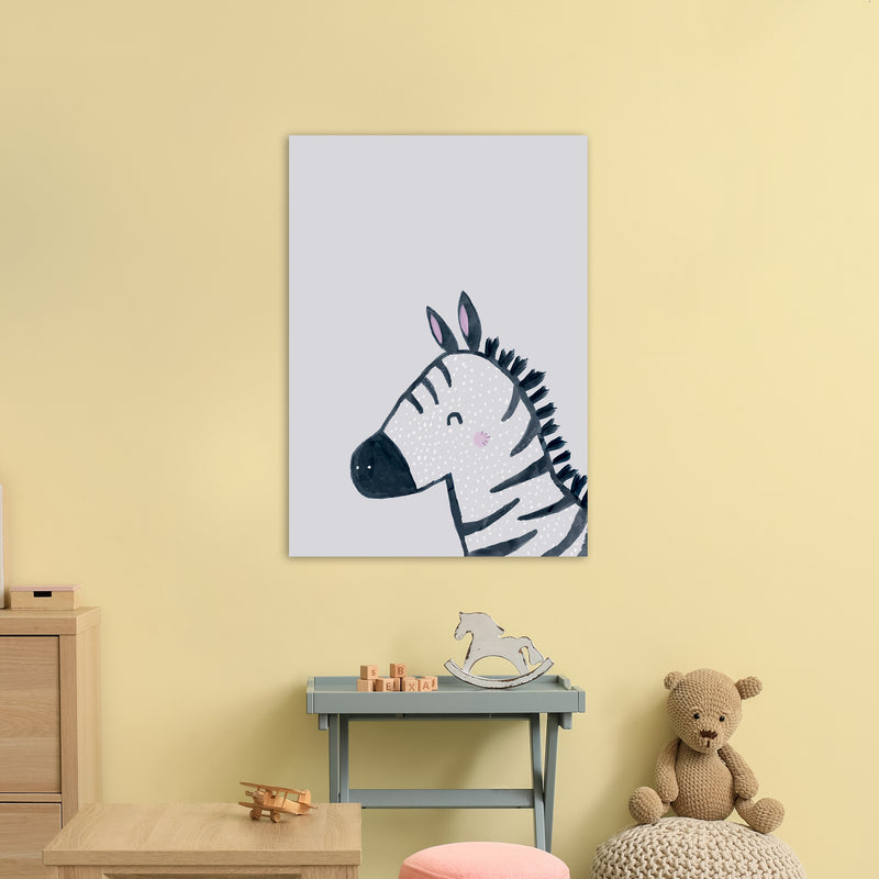 Inky Zebra by Laura Irwin A1 Print Only