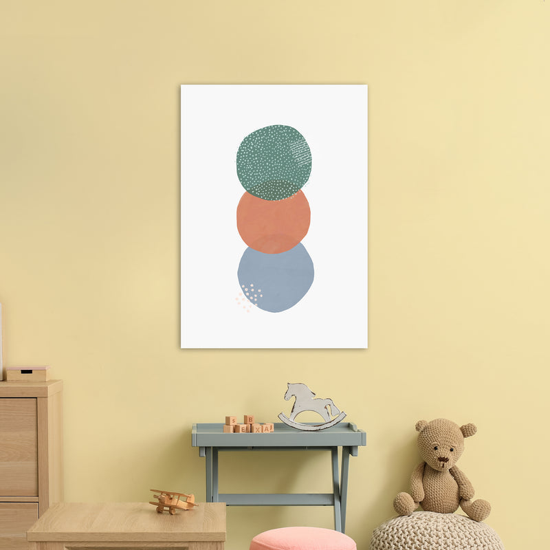Abstract Soft Circles Part 2 by Laura Irwin A1 Print On