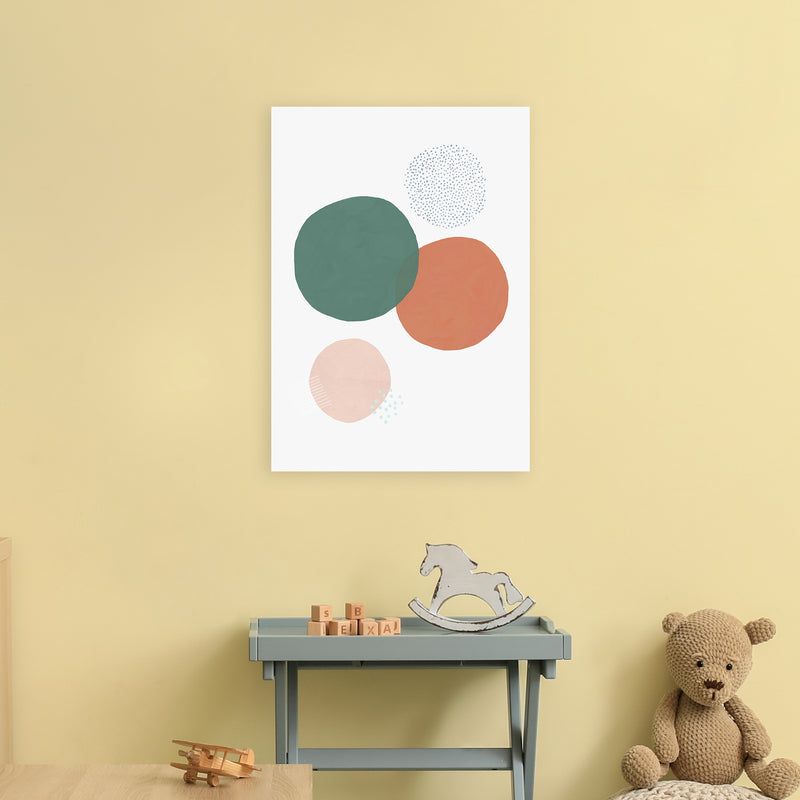 Abstract Soft Circles by Laura Irwin A2 Print Only