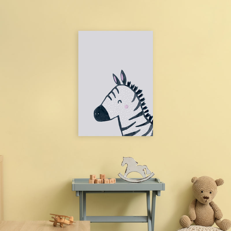 Inky Zebra by Laura Irwin A2 Print Only