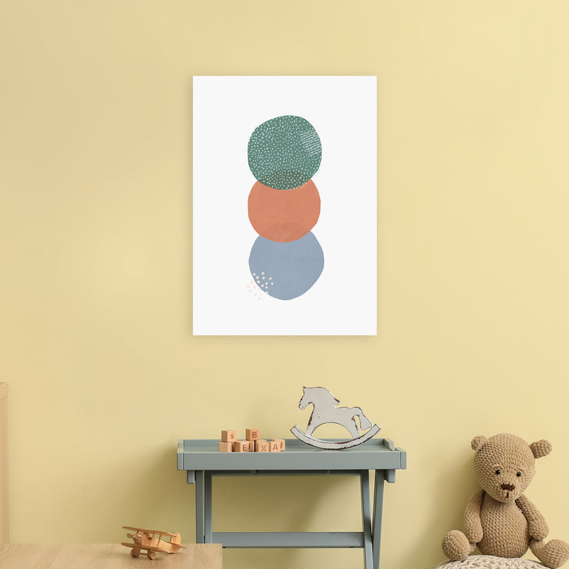 Abstract Soft Circles Part 2 by Laura Irwin A2 Print On