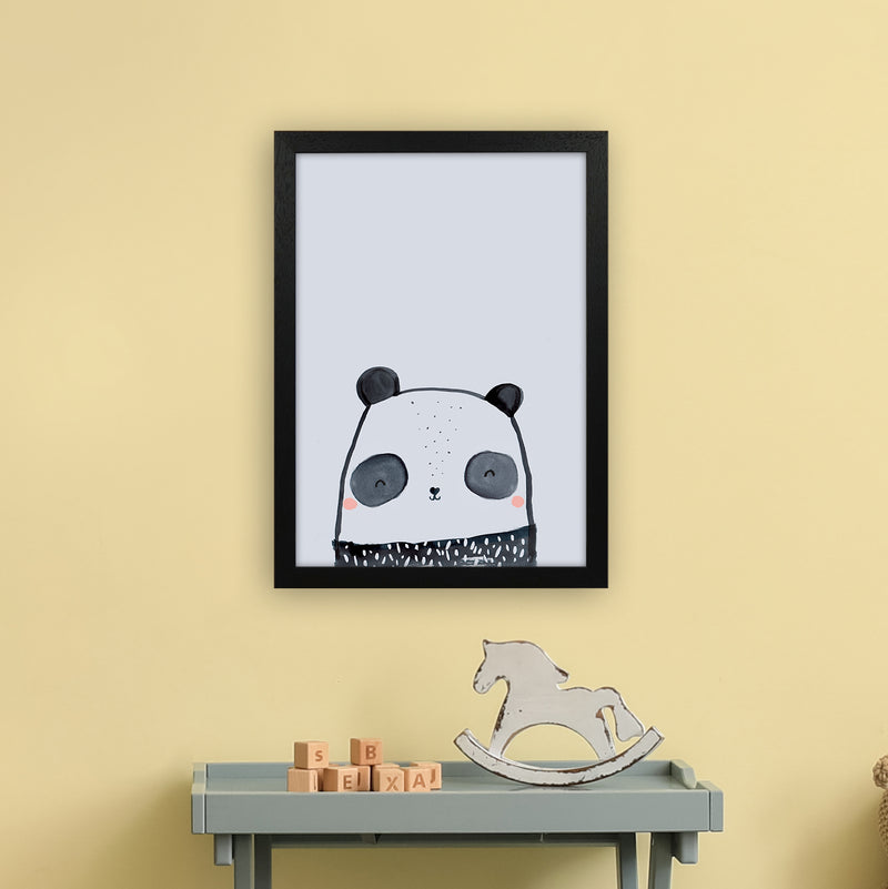 Panda by Laura Irwin A3 Black Frame
