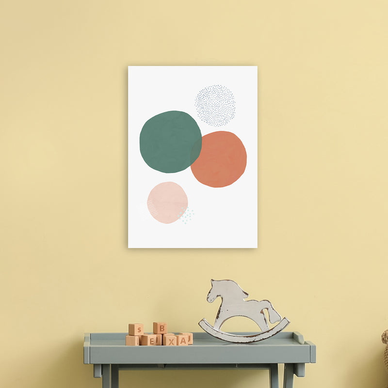 Abstract Soft Circles by Laura Irwin A3 Print Only