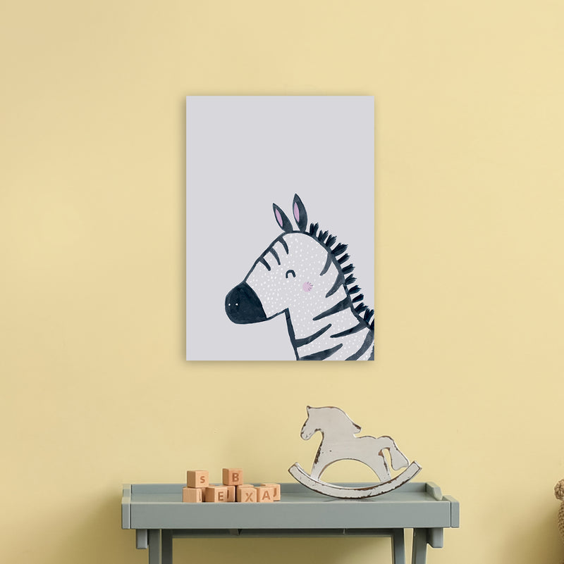 Inky Zebra by Laura Irwin A3 Print Only