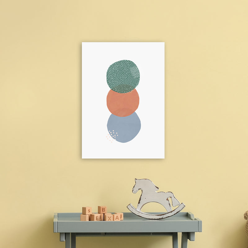 Abstract Soft Circles Part 2 by Laura Irwin A3 Print On