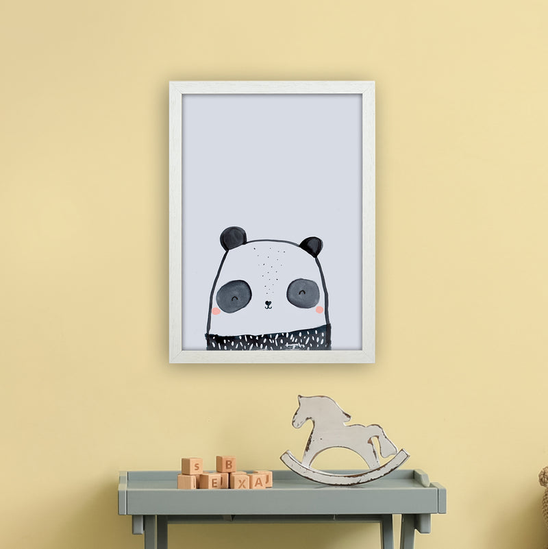 Panda by Laura Irwin A3 White Frame