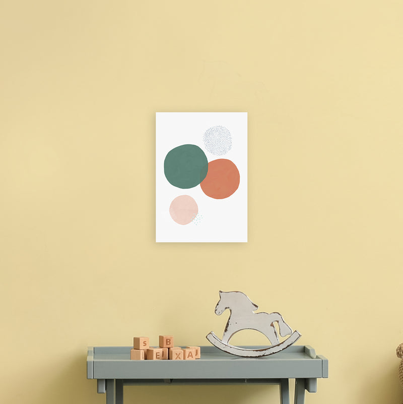 Abstract Soft Circles by Laura Irwin A4 Print Only