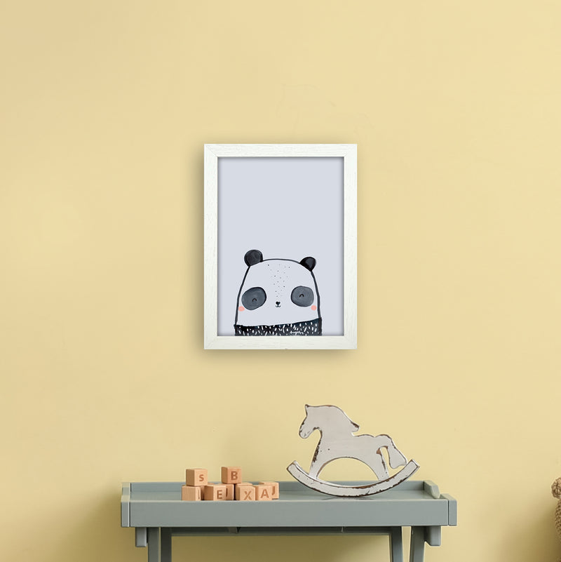Panda by Laura Irwin A4 White Frame