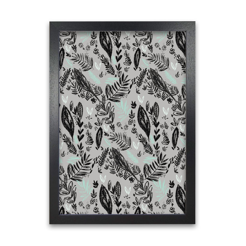 Laura Irwin Inky Jungle Pattern A1 White with White Mount
