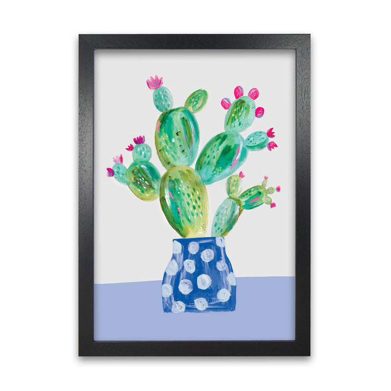 Laura Irwin Prickly Pear A1 White with White Mount
