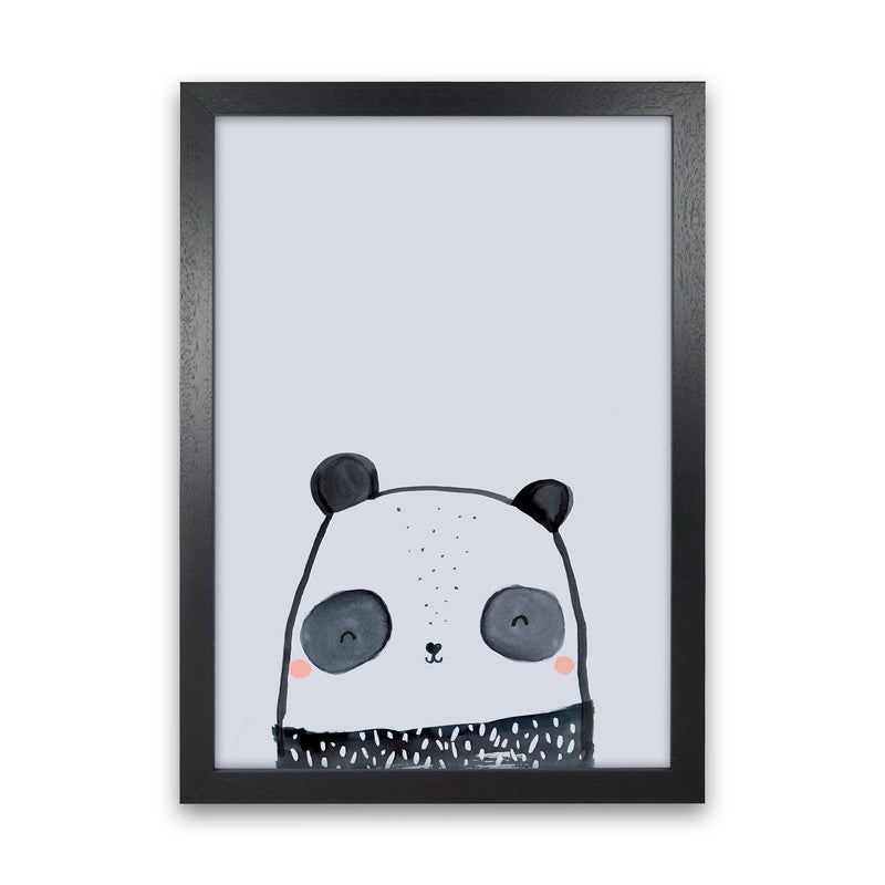 Panda by Laura Irwin Black Grain