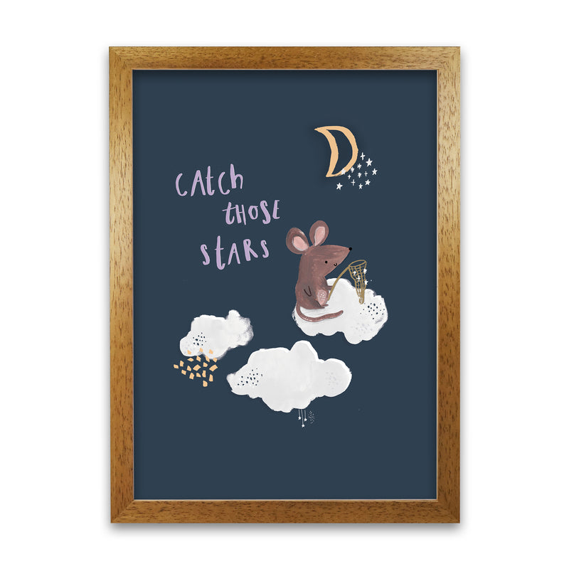 Laura Irwin Catch Those Stars A1 Print Only with White Mount