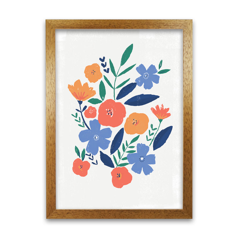 Laura Irwin Floral art print A1 Print Only with White Mount