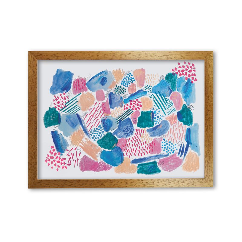 Laura Irwin Mark Making Pattern A1 Print Only with White Mount