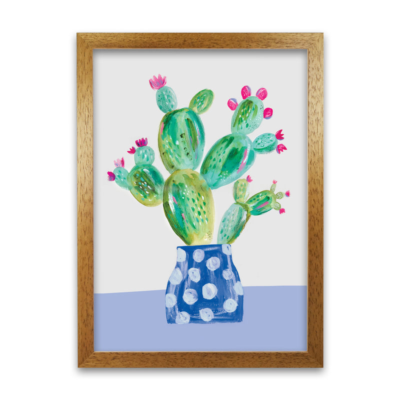 Laura Irwin Prickly Pear A1 Print Only with White Mount