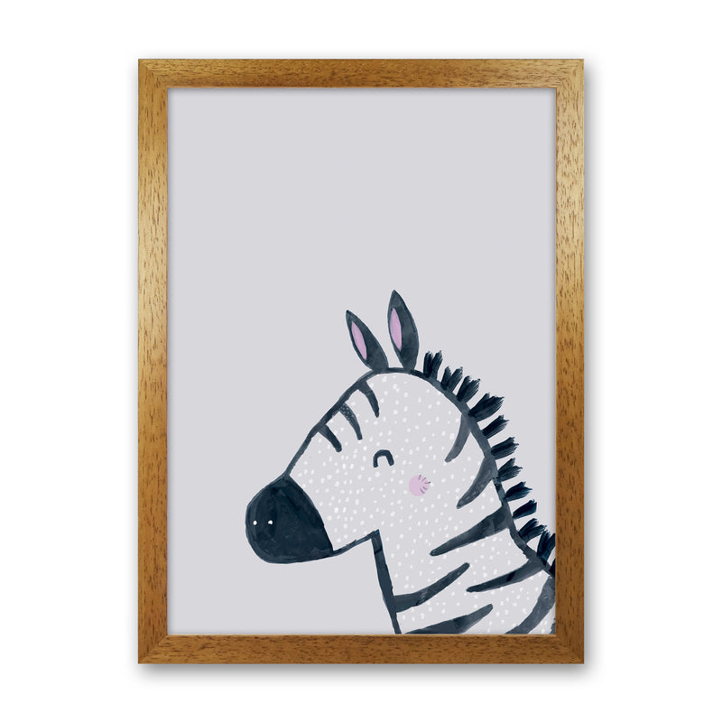 Inky Zebra by Laura Irwin Oak Grain