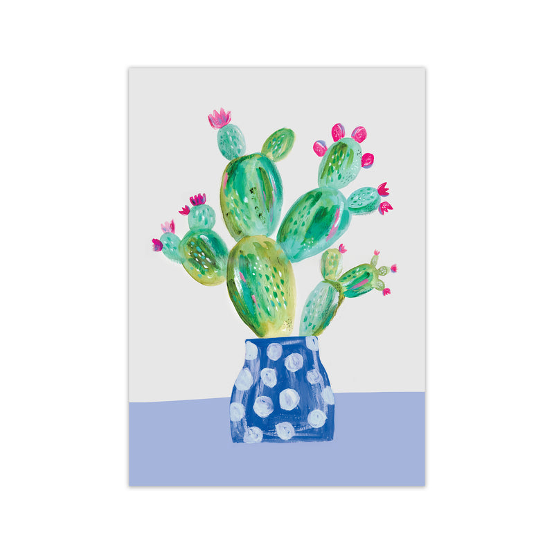 Laura Irwin Prickly Pear A2 Black with White Mount